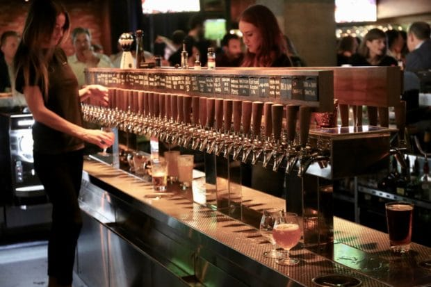 King Taps Pairs Craft Beer with Pizza for the Bay Street Crowd