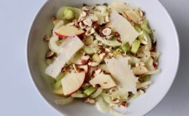 Fennel, Apple, Celery and Roasted Hazelnut Salad - 1