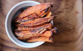 How to Make Crispy Baked Sweet Potato Fries - 2