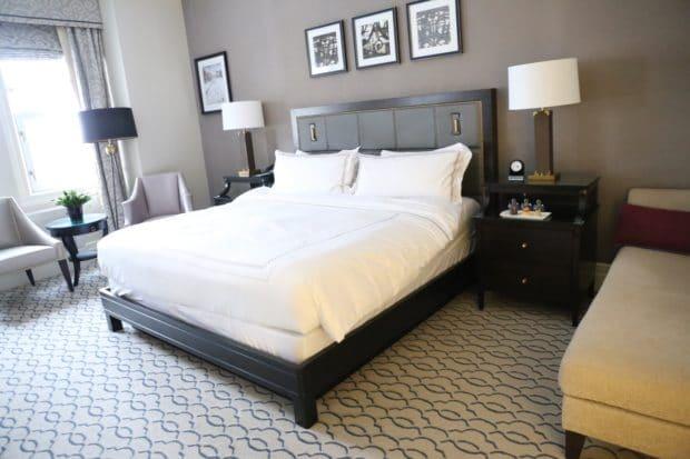 A suite at Fairmont Ottawa.