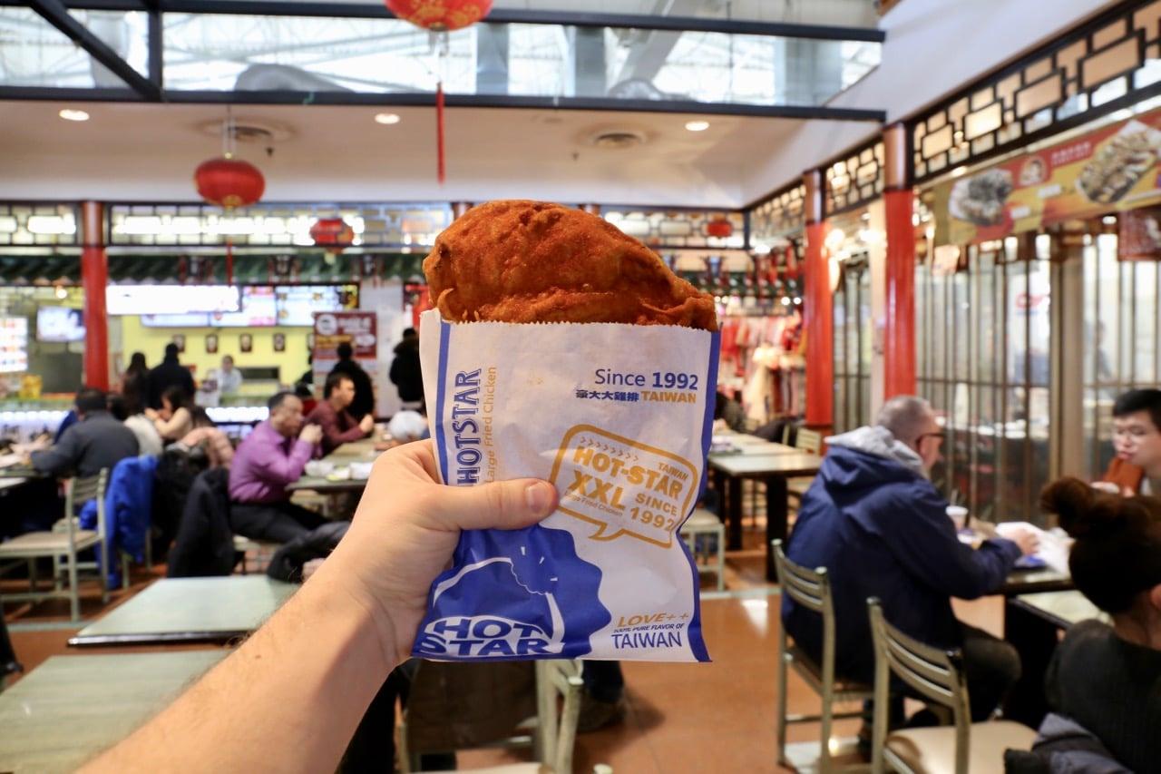 Markham Restaurants: Taiwanese fried chicken at Hot Star.