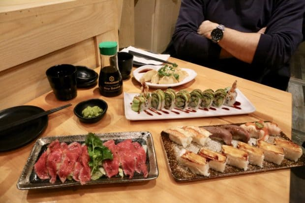 Markham Restaurants: AYCE sushi at KaKa All You Can Eat.