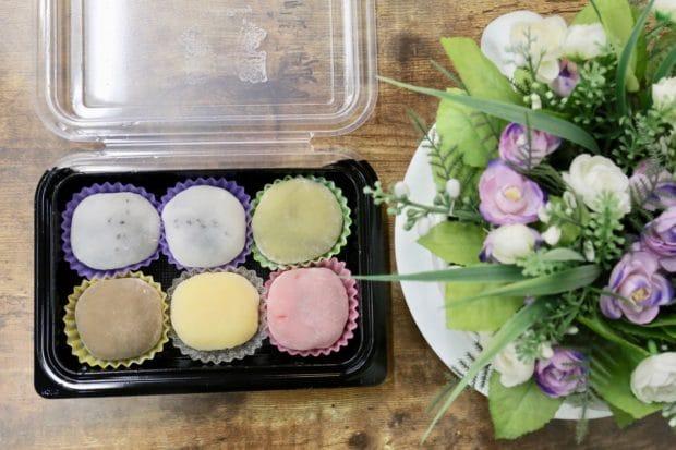 Markham Restaurants: sweet mochi at Sasaki Fine Pastry.