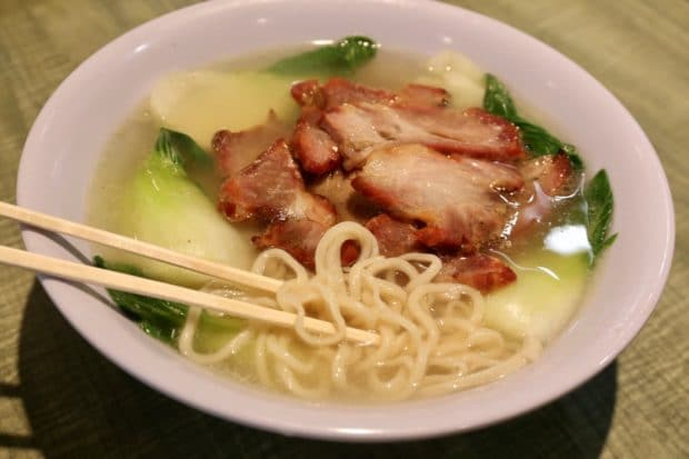 Markham Restaurants: noodle soup at Sun's Kitchen.