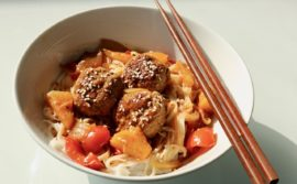 Sweet and Sour Pork Meatballs - 1