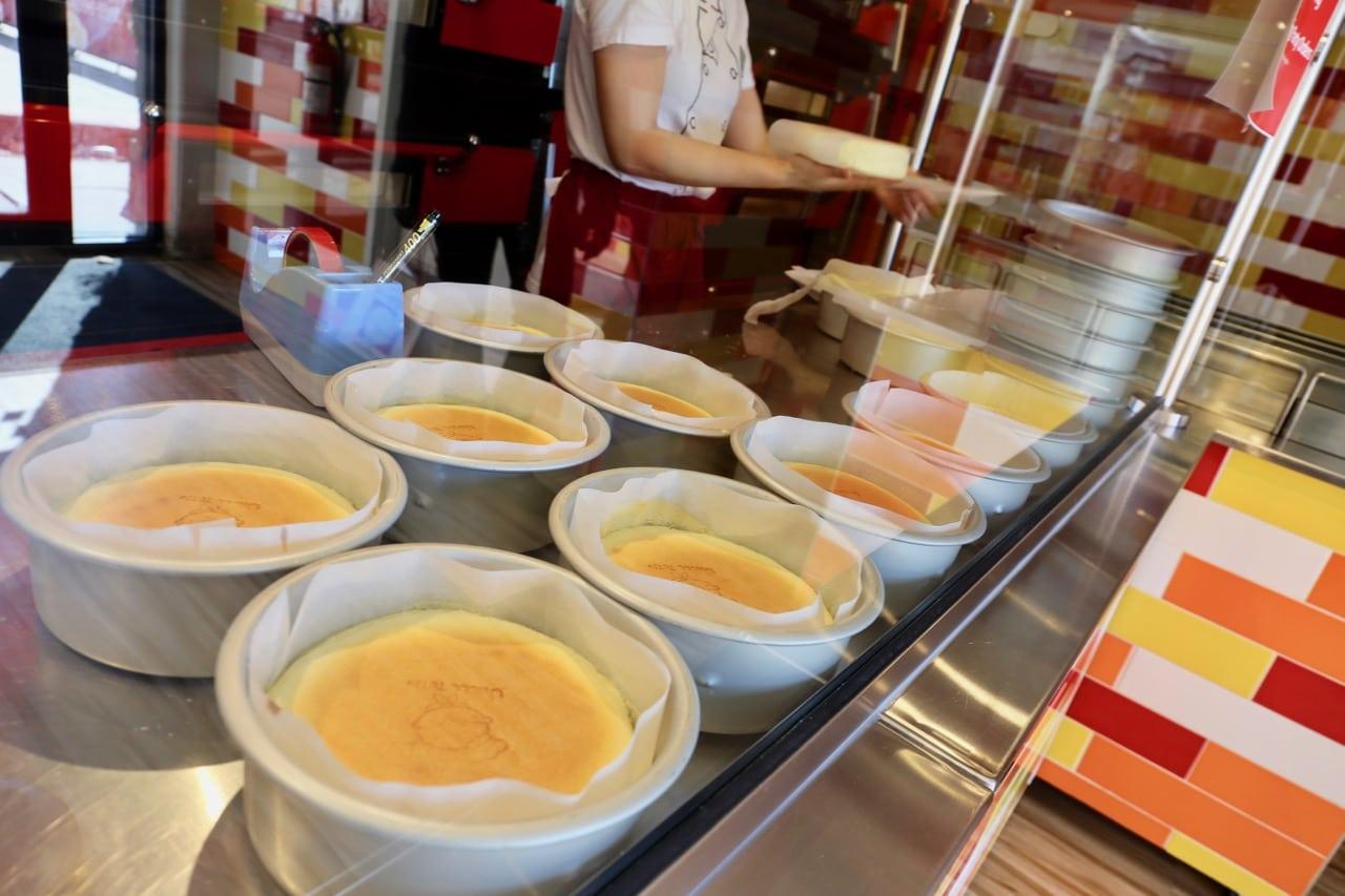 Markham Restaurants: cheesecake at Uncle Tetsu.