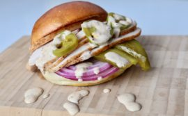 Jalapeño and Pickle White BBQ Turkey Sandwiches - 1