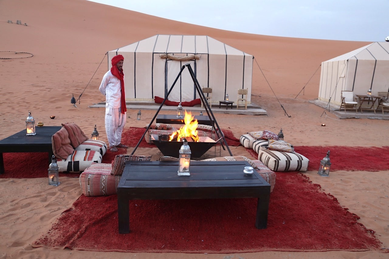 Image result for camping Merzouga