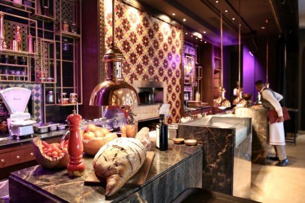 Quattro Italian Restaurant at Four Seasons Hotel Marrakech