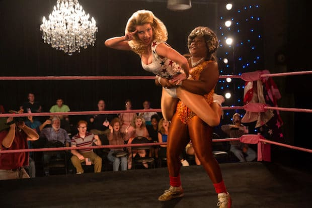 GLOW's High-Flying Antics Are Back And More 80's Than Ever