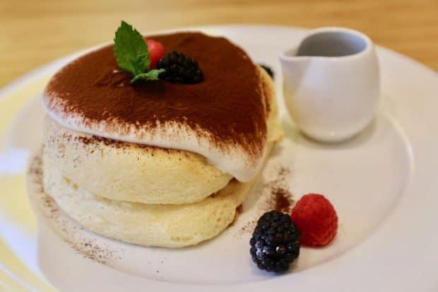 Tiramisu Pancake at Fuwa Fuwa Japanese restaurant.