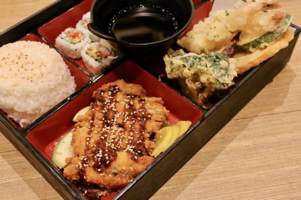 Chicken Katsu Bento at KaKa All You Can Eat Sushi Toronto.