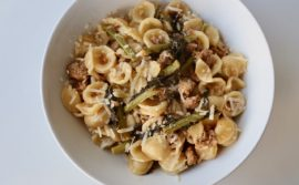 Orecchiette with Sausage and Kale - 1