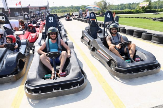 Wasaga Beach Camping Attractions: Ontario's best Go Kart track.