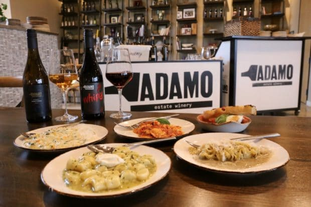 Adamo Estate Winery Restaurant