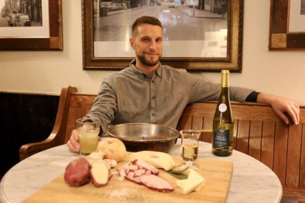 Tartiflette Reblochon Chef Jordan Munn