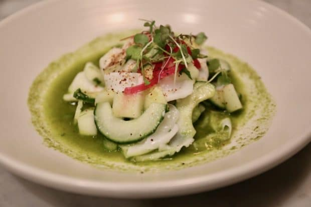 Rosalinda Toronto's Young Coconut Ceviche