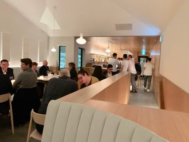 The 2nd floor dining room at Sara Toronto