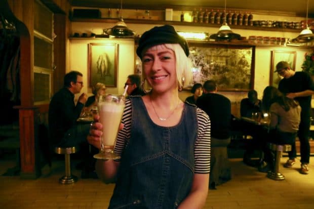 The Mak Shake cocktail at Seoul Shakers