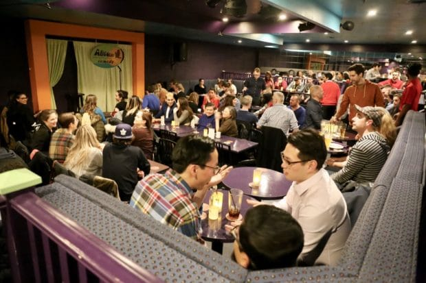 Comedy Clubs in Toronto: Absolute Comedy at Yonge and Eglington.