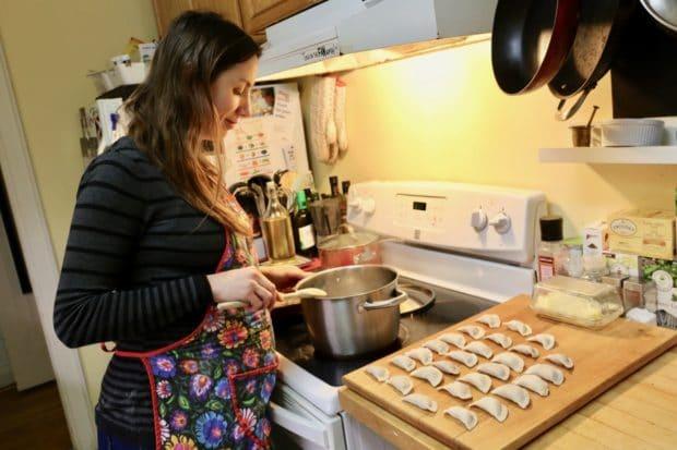 Maria Rozynska, Toronto's Homemade Pierogie Ambassador