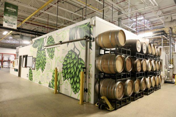 Take a free tour of Muskoka Brewery.
