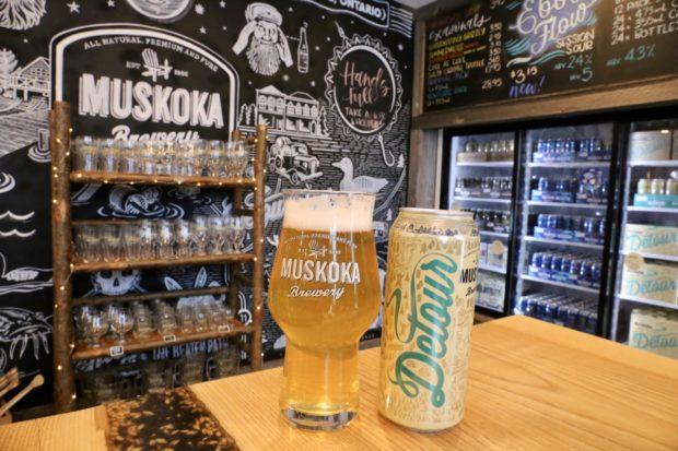 Muskoka Brewery Detour