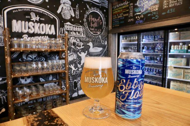 Muskoka Brewery Ebb & Flow