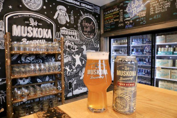 Muskoka Brewery TwiceAs Mad
