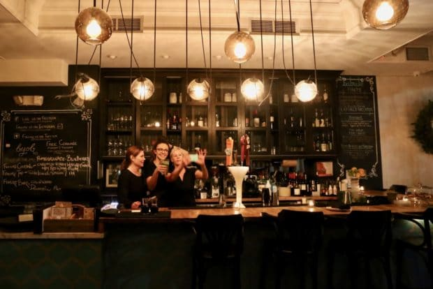 Tabule Toronto's bar serves cocktails inspired by the Middle East.