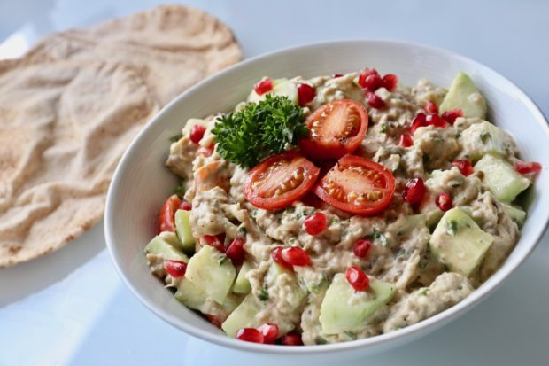 How To Make Healthy Vegan Melitzanosalata Greek Eggplant Dip
