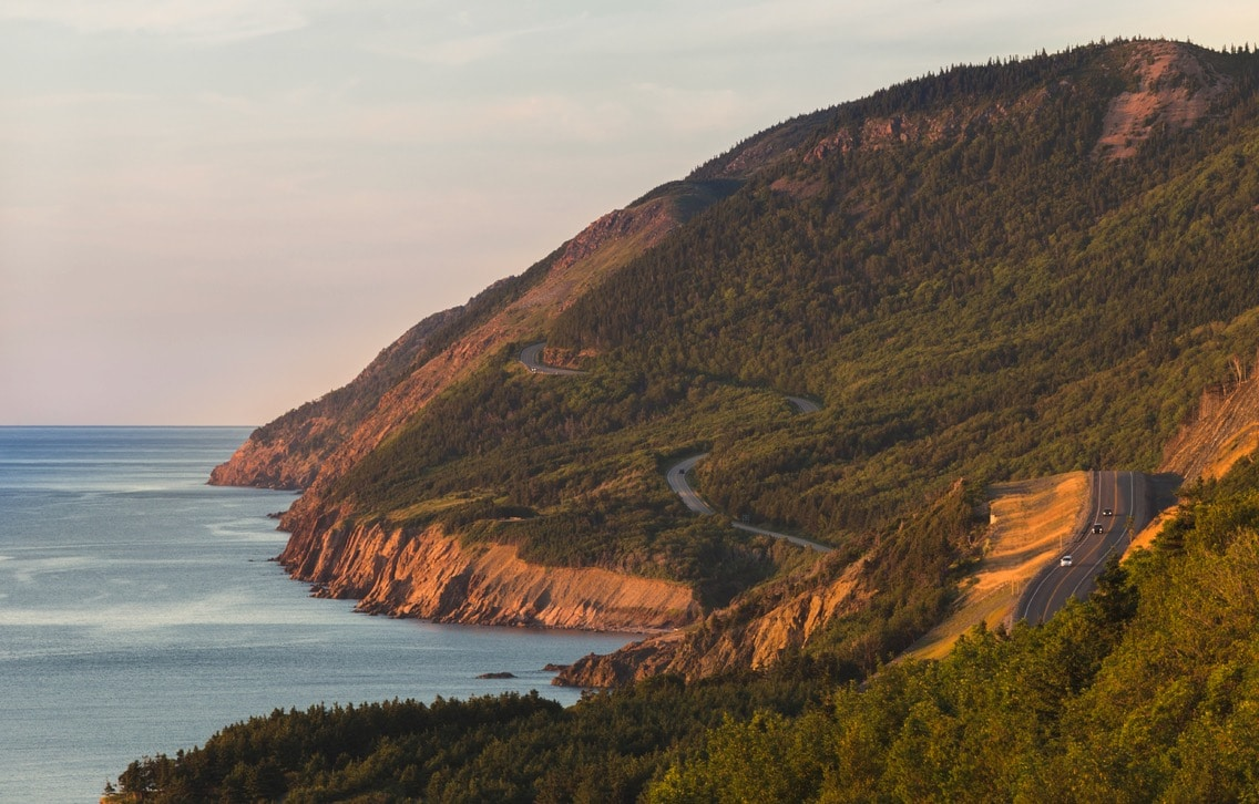 The Cabot Trail on a Canadian Road Trip.
