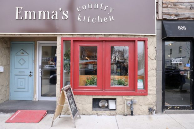 Emma's Country Kitchen offers the best brunch on St. Clair in Toronto.