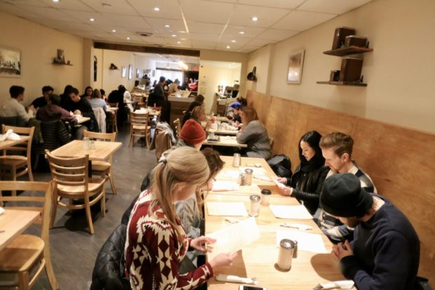 Brunch Places in Toronto: the dining room at Emma's Country Kitchen.