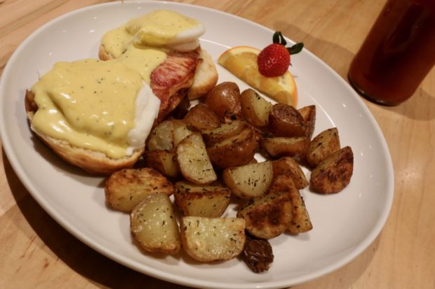 The restaurants signature Emma's Benny.