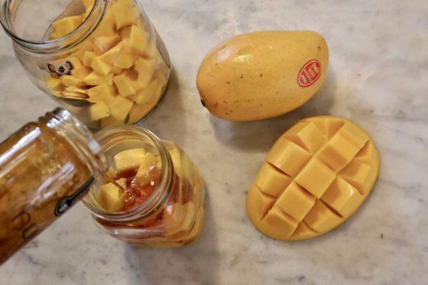 Get creative by making fermented mango honey.