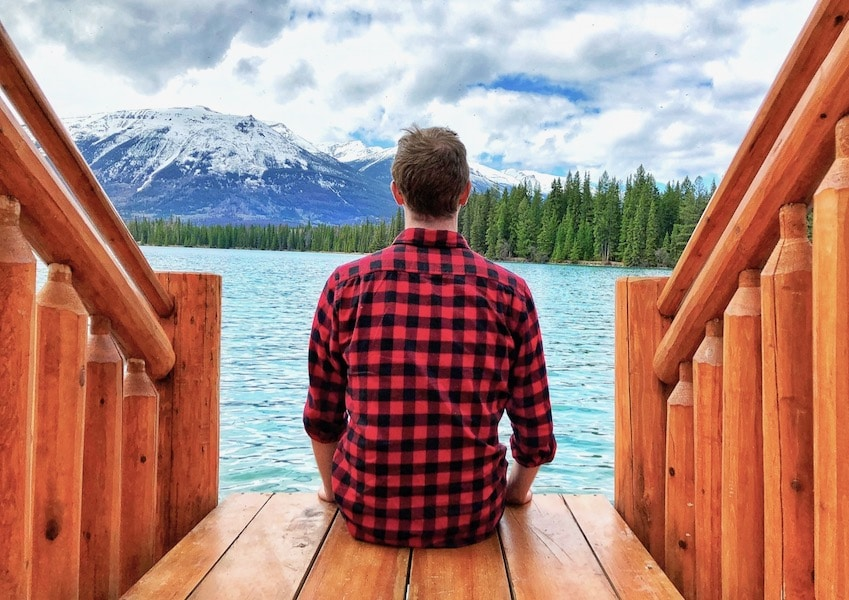 Ryan Woods enjoys a Canadian road trip to Jasper National Park.
