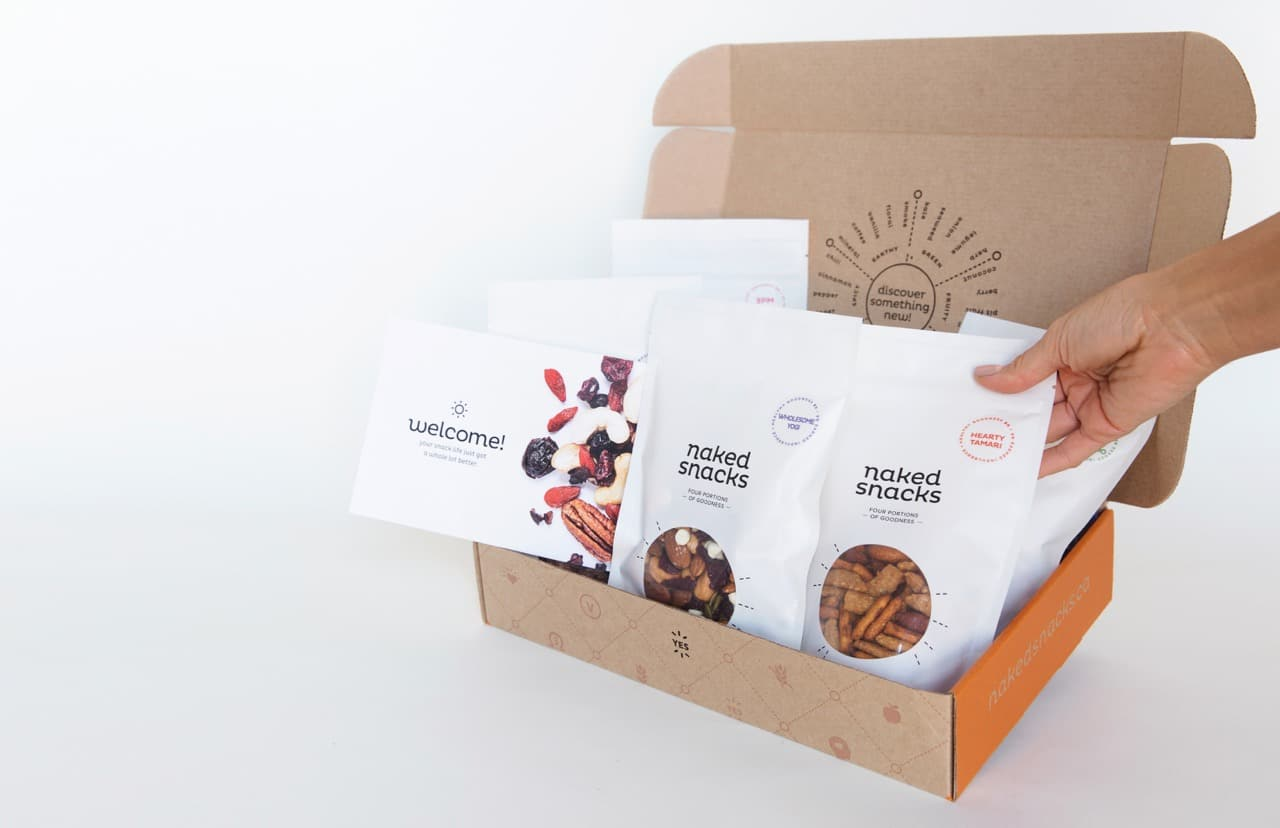 Naked Snacks are the perfect Toronto Gift Baskets for healthy foodies.