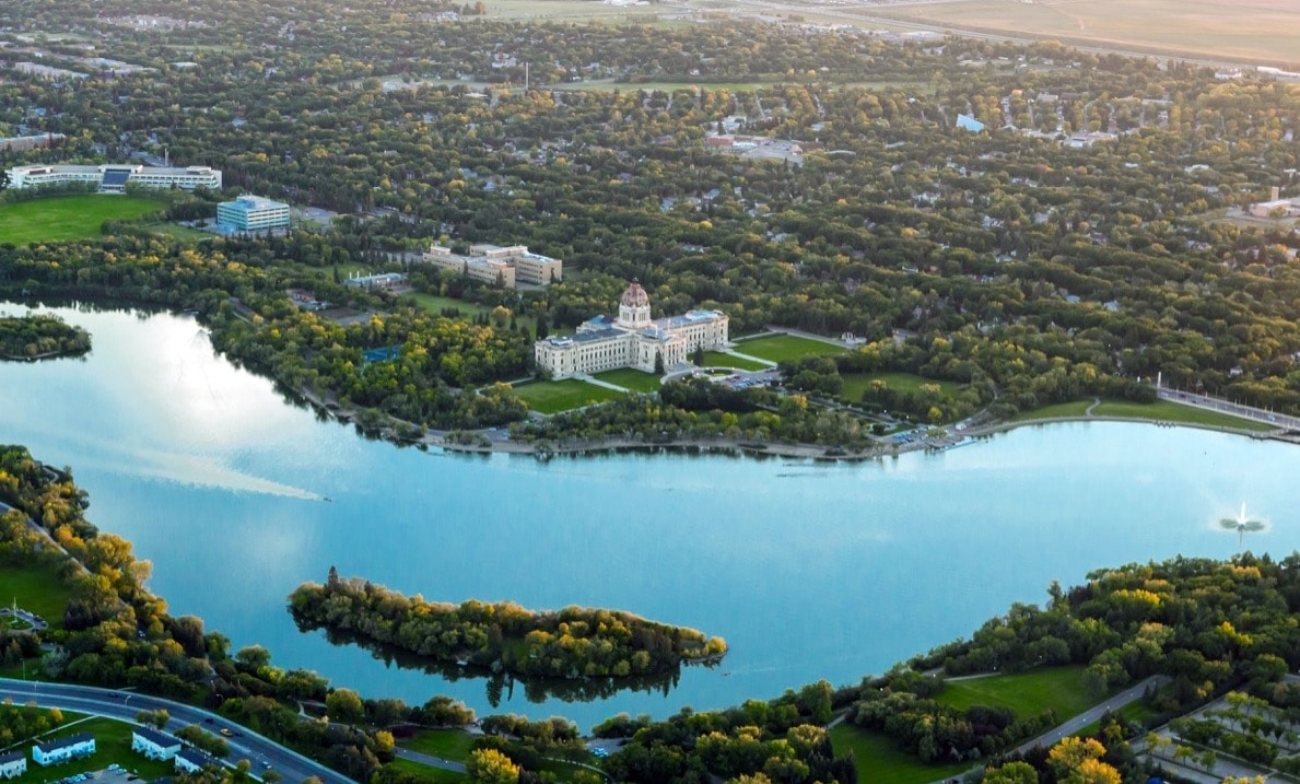 Kenton de Jong explores Wascana Park in his hometown of Regina.