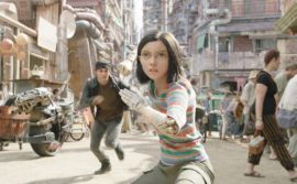 Actress Rosa Salazar plays Alita, the most realistic CGI persona we've seen on screen.
