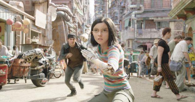 Actress Rosa Salazar plays Alita, the most realistic CGI persona we've seen on screen.