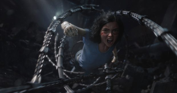 Alita: Battle Angel is filled with jaw-dropping special effects and creative camera work.