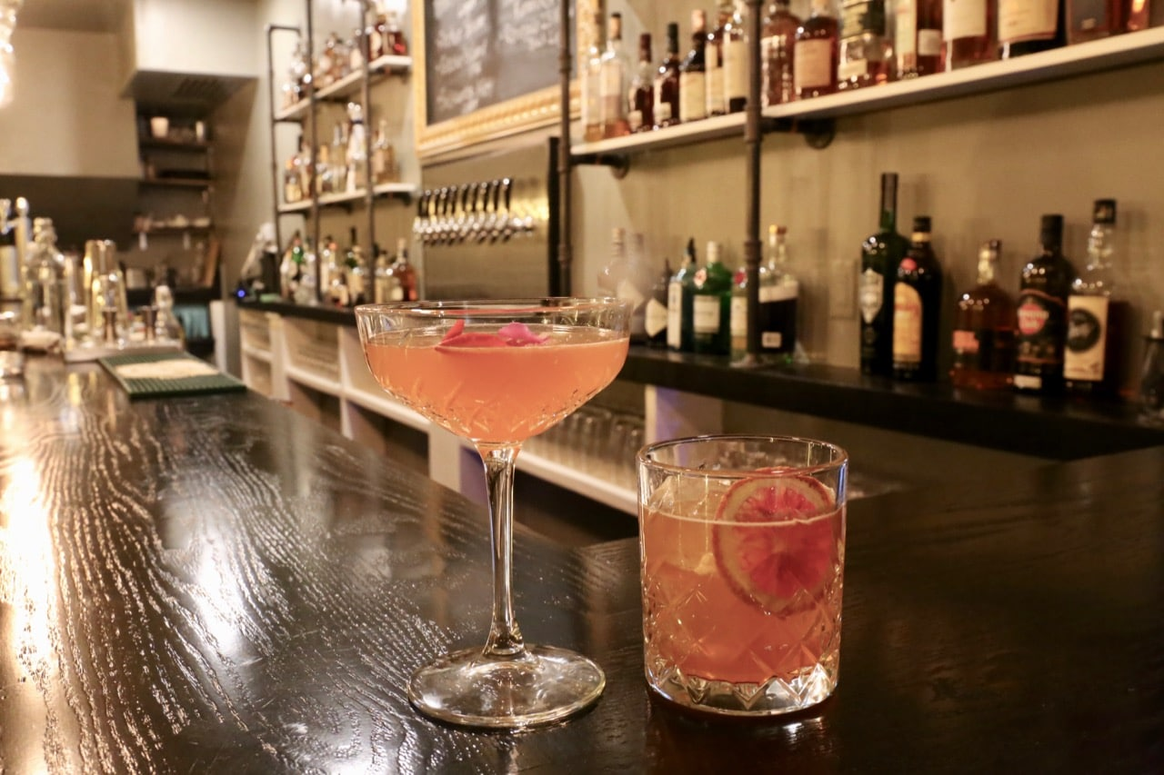 Bootleg Smokehouse offers a Prohibition inspired cocktail bar.