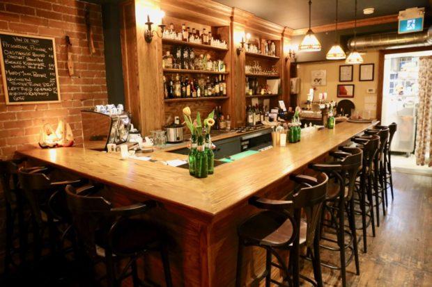 Borrel restaurant serves Dutch and Indonesian snacks in Toronto.