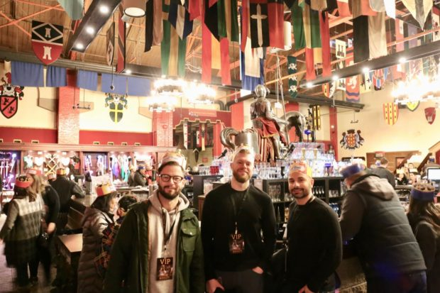 The Hall of Arms at Medieval Times Toronto.