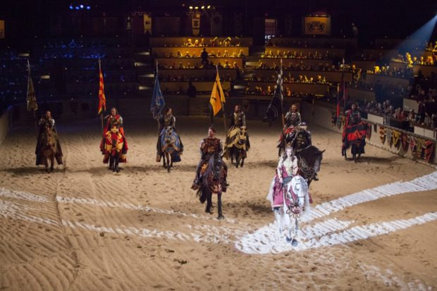Travel back in time at Medieval Times Toronto.