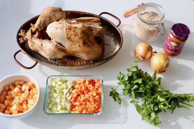 Turkey Barley Soup ingredients