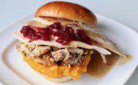 Turkey Cranberry Sandwich - 2