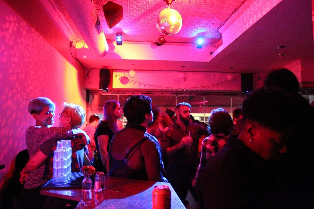 Gay Bars Toronto: Glad Day Bookshop is a cafe, queer bookstore and LGBT dance party wrapped into one.