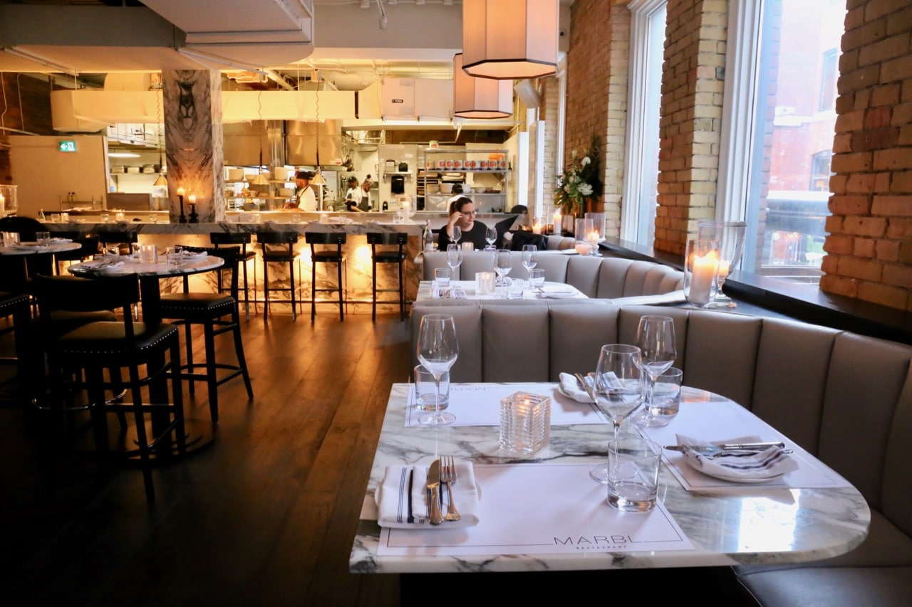 King West Restaurants: Marbl is the neighbourhoods newest steakhouse.